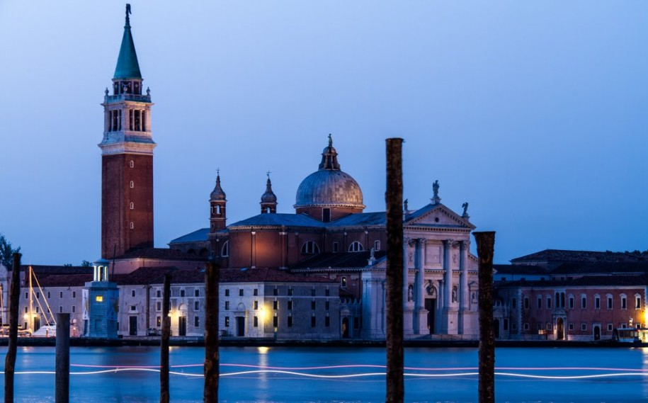At the Plaza San Marcos looking toward San Giorgio Maggiore.