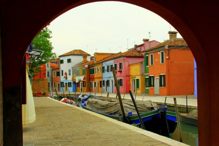 The sights and scenes of the Island of Burano