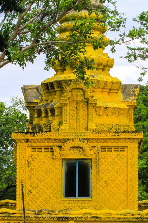 Part of the emple complex