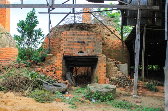 Part of the brick works