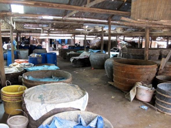 Fermenting fish paste