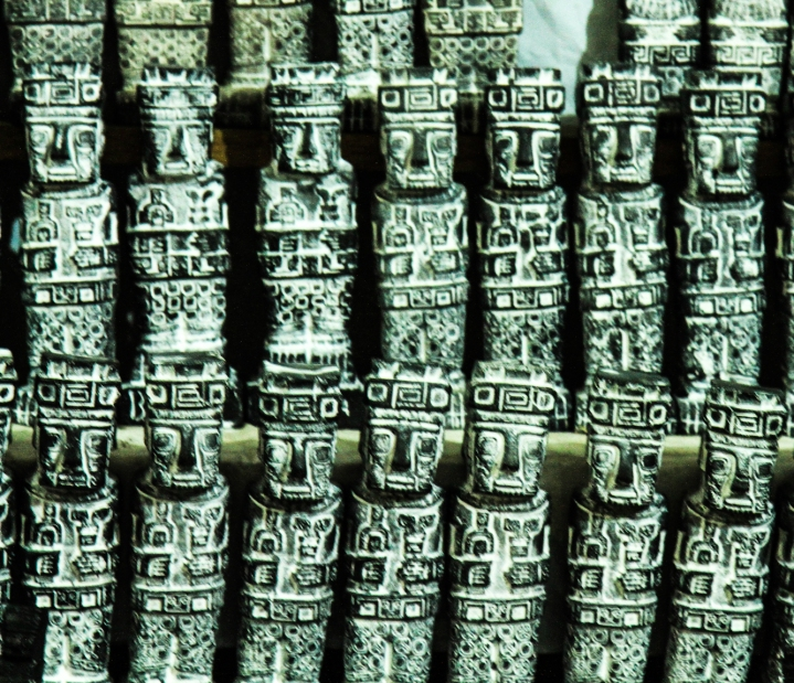 Amulets copied from the pre-Incan Tiahuanaco culture - means power and strength!