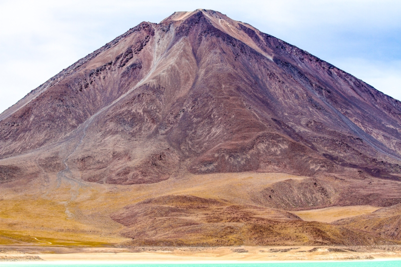 The Licancabur Volcano.