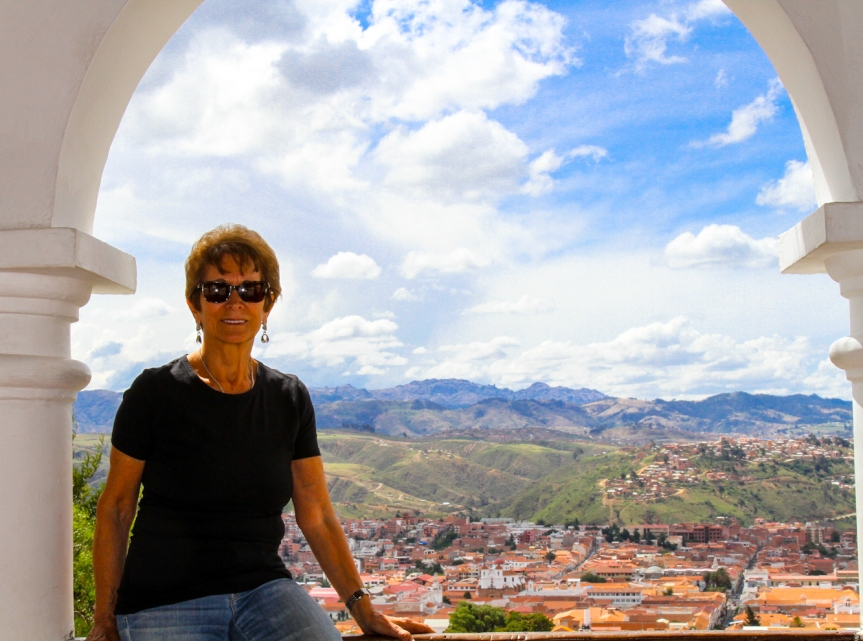 Highest Viewpoint overlooking the city of Sucre.