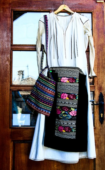 Beautiful hand-made dresses with embroidery.